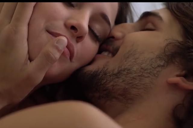 Laryssa Ayres e Brenno Leone no clipe Equilíbrio (Foto: Reprodução)