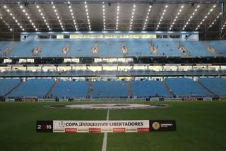 Arena Grêmio x Toluca (Foto: Eduardo Moura/GloboEsporte.com)