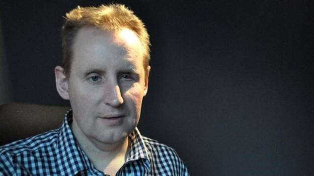 Jornalista perdeu visão na infância (Foto: BBC)