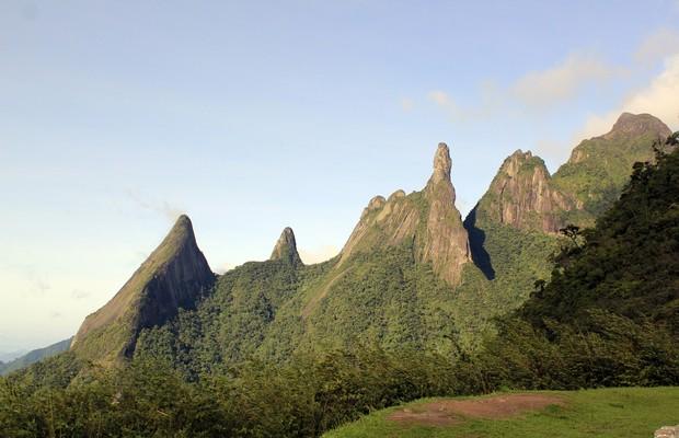 Pico Dedo de Deus, no Parque Nacional da Serra dos Órgãos (RJ) (Foto: Yuri Menezes/SOS Mata Atlântica)