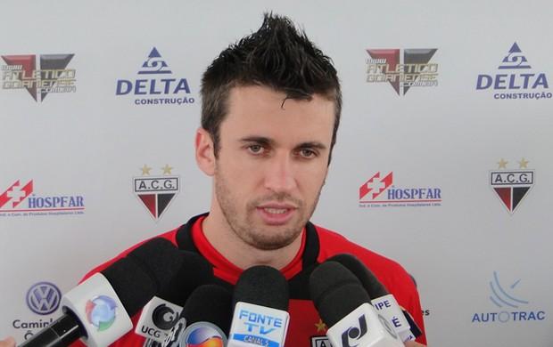 Elias, meia do Atlético-GO (Foto: Kaiê Oliveira / Atlético-GO)