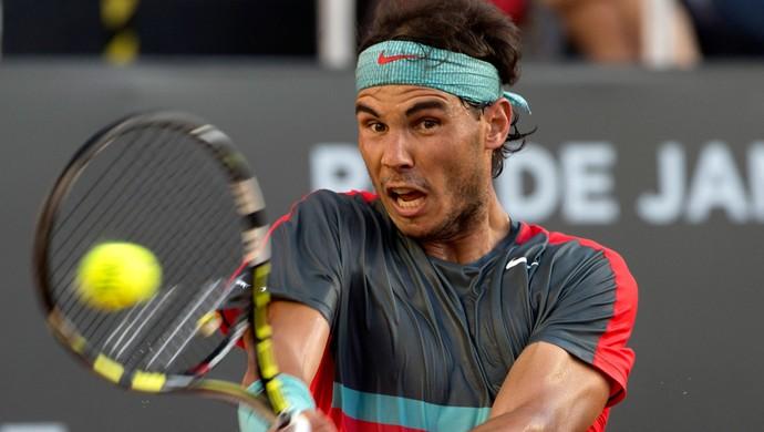Nadal x Dolgopolov Rio Open (Foto: AP)