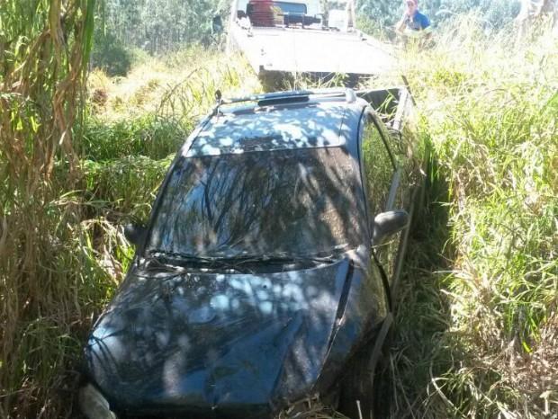 Veículo furtado em Itu era utilizado para tráfico de drogas (Foto: Divulgação/ PM Itapeva)