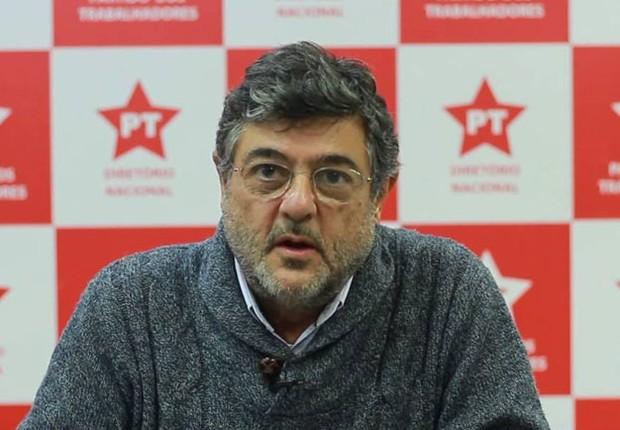 Carlos Árabe, secretário de Formação do PT (Foto: Reprodução/YouTube)
