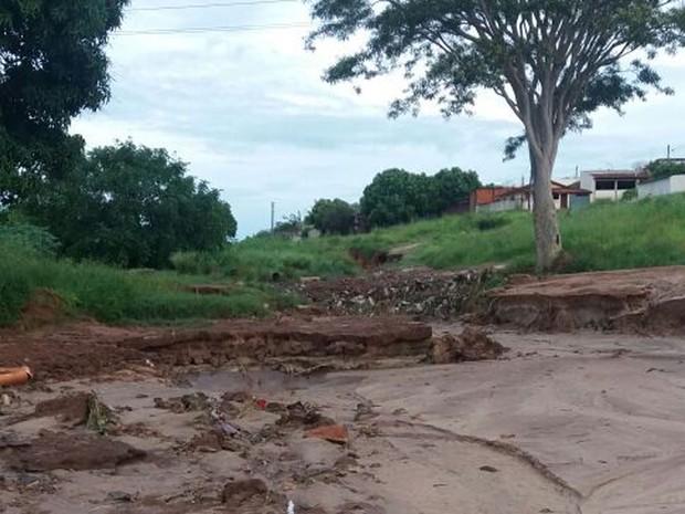 Bairro está em obras, segundo o chefe de gabinete da Prefeitura (Foto: Paulo Roberto dos Santos/Cedida)