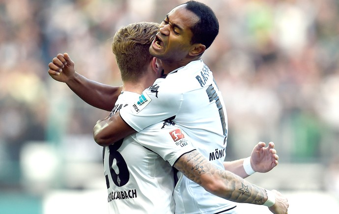 Raffael Borussia Monchengladbach X Hoffenheim (Foto: Agência AFP)
