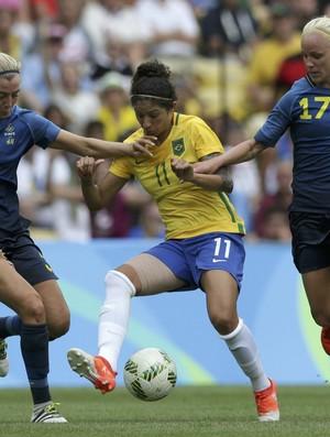 Cristiane Brasil x Suecia semifinal
