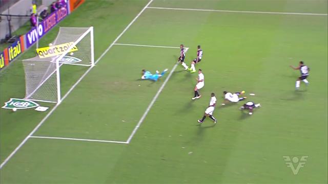 Com reservas, Atlético-MG vence o Santos na estreia do Brasileirão (Foto: Reprodução/TV Tribuna)