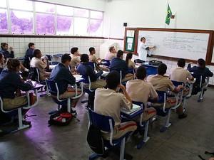 Colégio Militar Salvador (Foto: Egi Santana/G1)