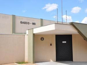 Sede do Gaeco, em Campo Grande (Foto: Adriel Mattos/G1 MS)