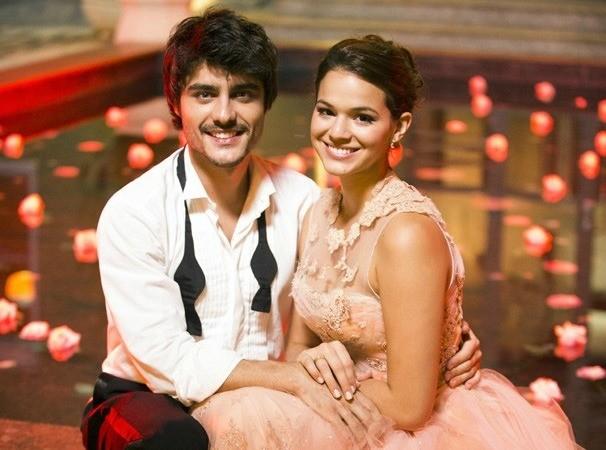 Guilherme Leicam e Bruna Marquezine (Foto: Divulgação/TV Globo)