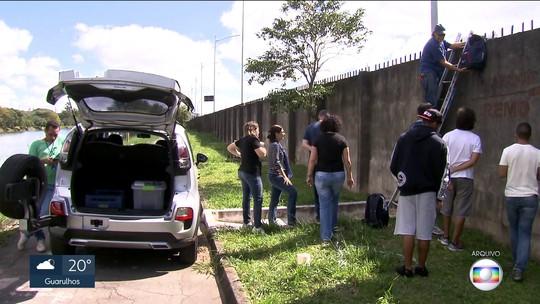 Testes mostram que ar é mais poluído do lado de fora do muro da USP