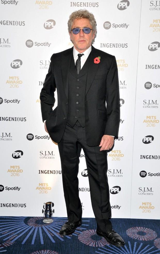 O britânico Roger Daltrey (Foto: AKM-GSI)