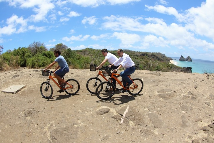 Bicicletas em Noronha 2