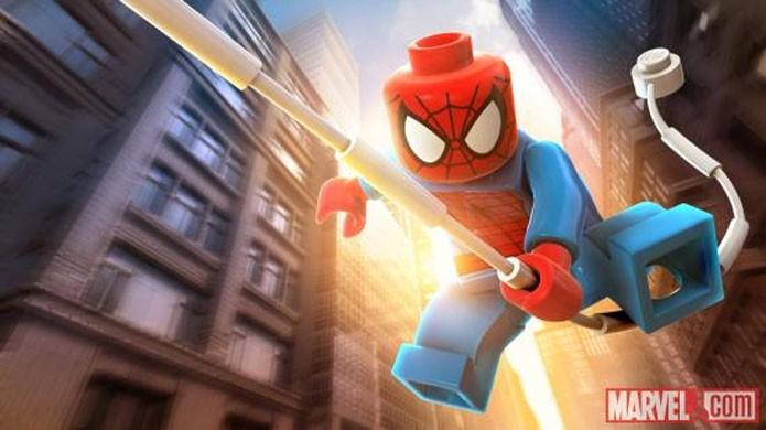Homem-Aranha em LEGO Marvel Super Heroes (Foto: Divulgação)
