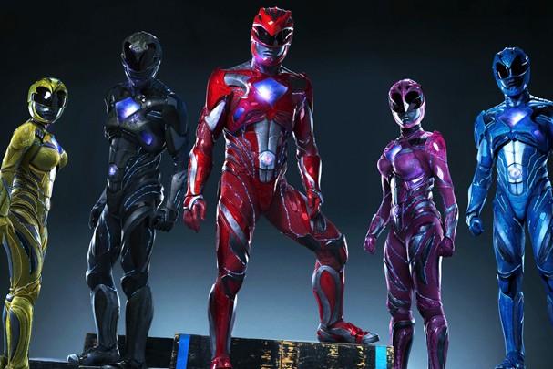 Novo visual dos Power Rangers (Foto: Divulgação)