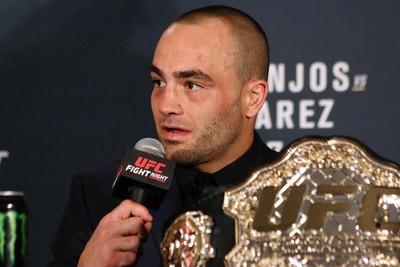 Eddie Alvarez Coletiva UFC (Foto: Evelyn Rodrigues)