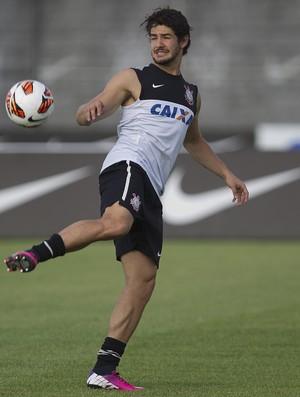 Alexandre Pato treino Corinthians (Foto: Daniel Augusto Jr. / Ag. Corinthians)