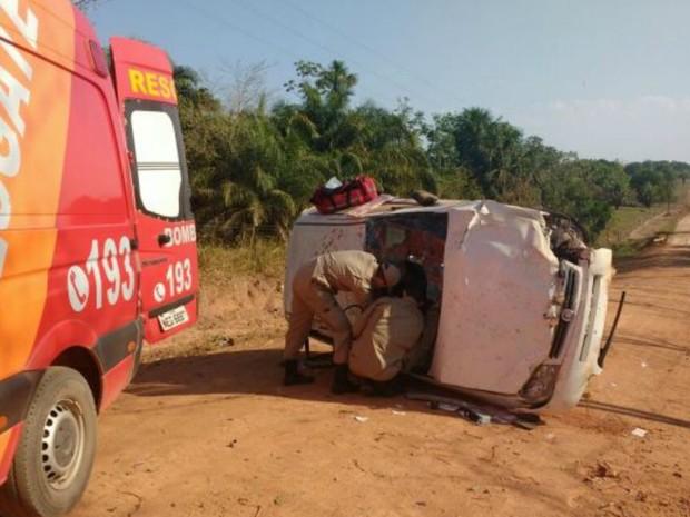 Corpo de Bombeiros foi acionado por testemunha  (Foto: Alerta Rolim/Reprodução)