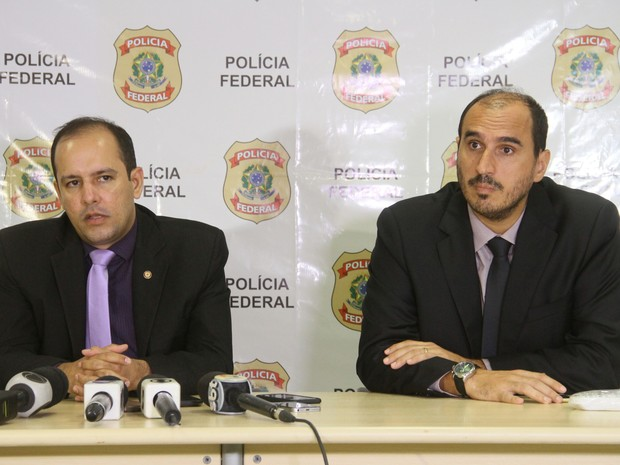 Coletiva Polícia Federal no Maranhão (Foto: Biné Morais/ O Estado do Maranhão)