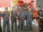 Pimentel inaugura Companhia de Operações Aéreas em Varginha, MG