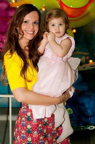 Viviane Victorette e a filha (Foto: Arquivo pessoal)