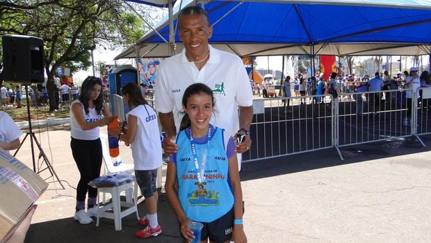 Maior medalhista da Maratoninha se despede do circuito em Uberlândia (Foto: Arquivo Pessoal/Fernanda Pontes)