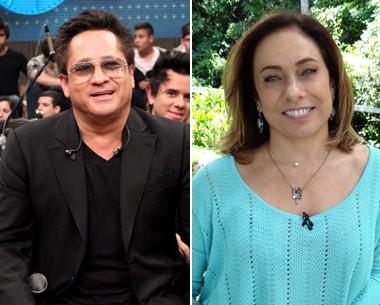 Leonardo e Cissa Guimarães vão participar de programa sobre amor (Foto: Divulgação TV Globo)