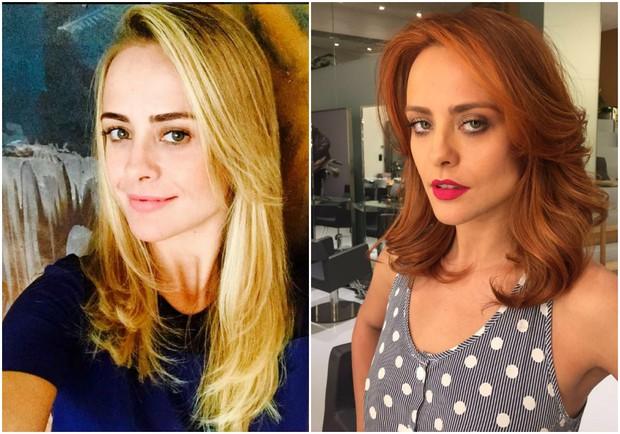 Juliana Silveira antes e depois (Foto: Reprodução/Instagram)