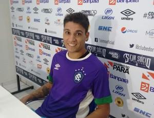 Volante Alisson (Foto: Samara Miranda/GloboEsporte.com)