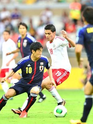 Japão e México (Foto: Marcos Ribolli)