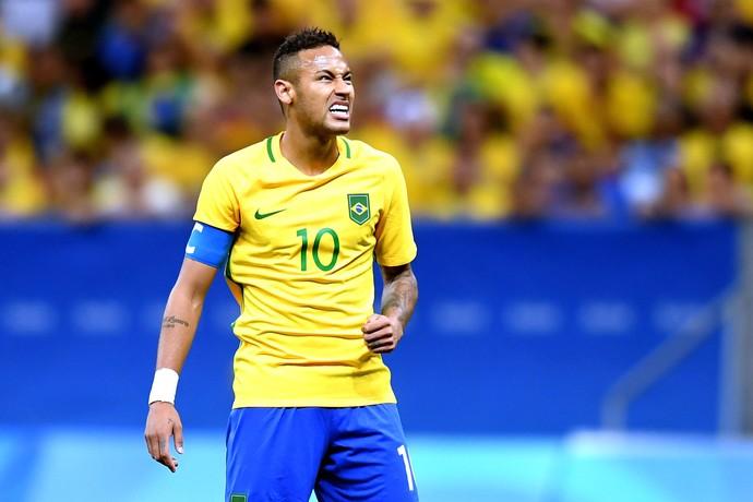 Neymar, Brasil X Iraque (Foto: Agência AFP)