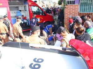 Em menos de uma semana, cinco pessoas morreram no Prado Velho (Foto: João Carlos Frigério/Estadão Conteúdo)