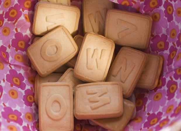 Biscoito de letrinha (Foto: Thinkstock)