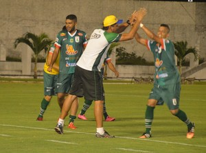 Sousa, comemoração, (Foto: Cisco Nobre / GloboEsporte.com)