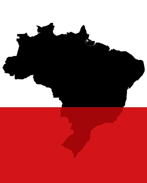O Brasil no vermelho  (Foto: época )