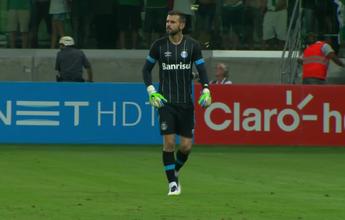 Goleiro reserva do Grêmio tem lesão muscular e será baixa para o Gre-Nal