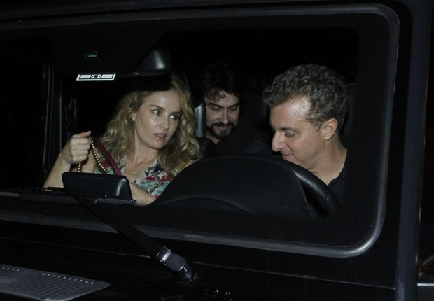 Angélica, Padre Fábio de Mello e Luciano Huck (Foto: Thyago Andrade/Brazil News)