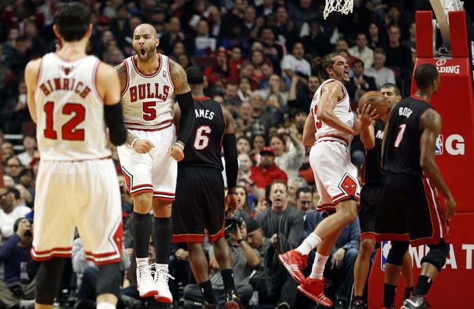Chicago Bulls x Miami Heat - AP (Foto: AP)