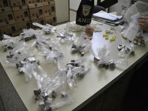 Guarda Municipal de Jundiaí apreende grande quantidade de drogas (Foto: Divulgação/ GCM Jundiaí)