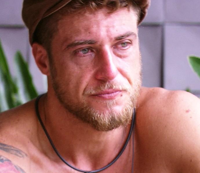 Daniel chora Dia na casa 25_1 (Foto: TV Globo)