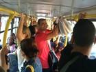 Joana Prado e Vítor Belfort pegam ônibus e reclamam: 'Não é fácil não'