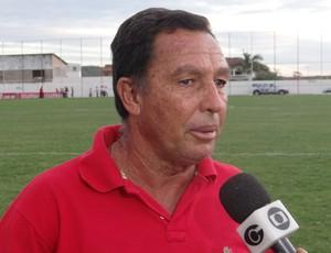Eduardo Neto, técnico do Santa Rita (Foto: Leonardo Freire/GloboEsporte.com)