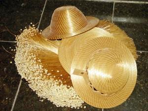 Produtos feitos com capim dourado chamam atenção de turistas (Foto: Márcio Vieira/ATN)