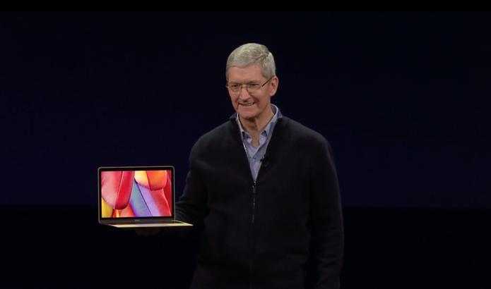 Apple anuncia novo notebook em evento (Foto: reprodução)