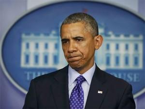 Obama fala da situação no Iraque nesta quinta (19) (Foto: Kevin Lamarque/Reuters)