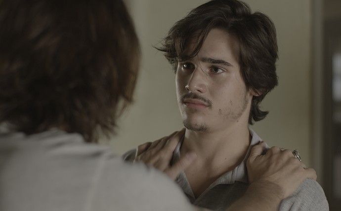 Gui consola Zac após garoto ser humilhado por Diana (Foto: TV Globo)