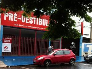 Estudante de 20 anos morre após sair de cursinho, em Goiânia, Goiás (Foto: Mariana Martins/ TV Anhanguera)