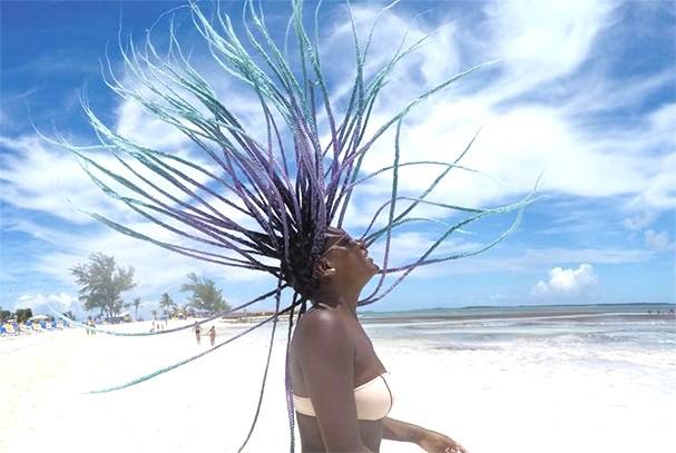 Cuidados com box braids no verão (Foto: Reprodução Instagram)
