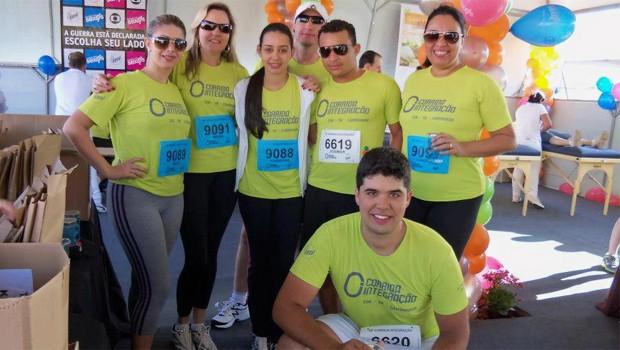 Corredores da Corrida Integração 2012 (Foto: Rafael Leão)
